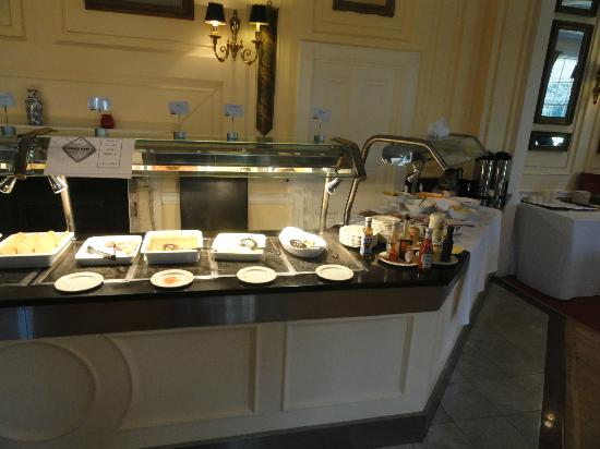 Park Inn by Radisson Thurrock: Buffet petit déjeuner