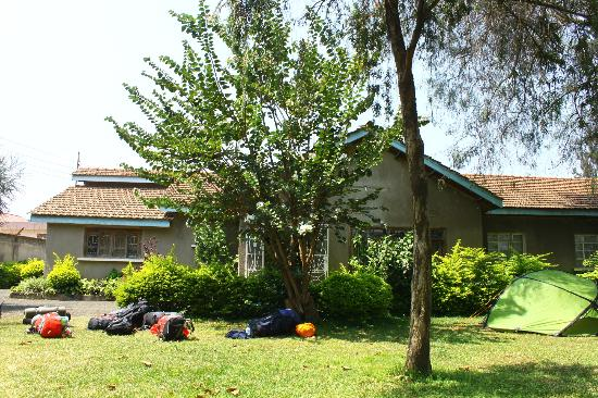 Sakina campsite: The building itself