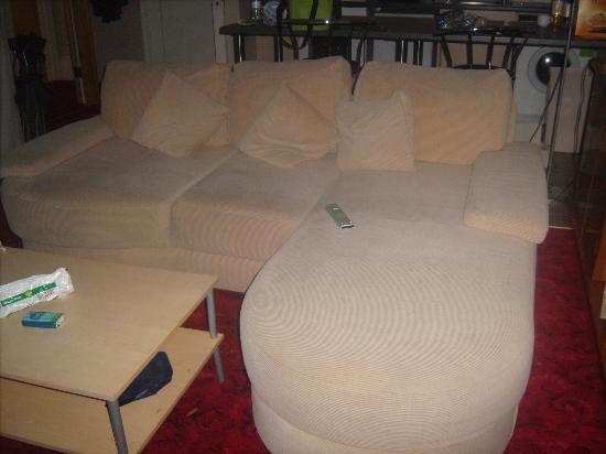 Ocean Hotel & Apartments: the sofa