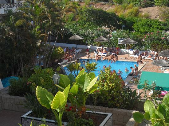 Hacienda Del Sol: The pool in the afternoon