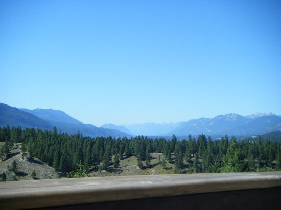Rocky Mountain Springs Lodge and Restaurant: Amazing view!