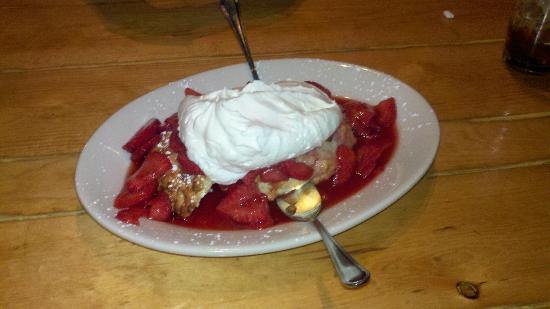 Rock Inn Mountain Tavern: best strawberry shortcake ever!