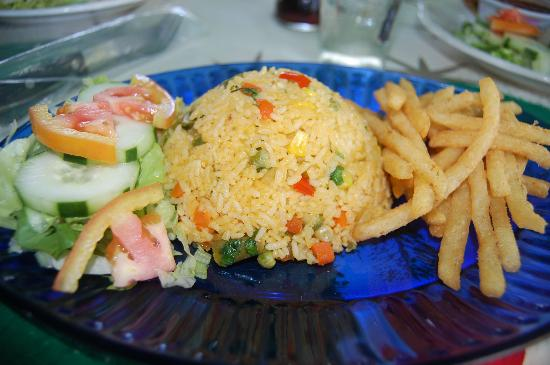 Nuestra Casita : My vegetarian meal, delicious and filling