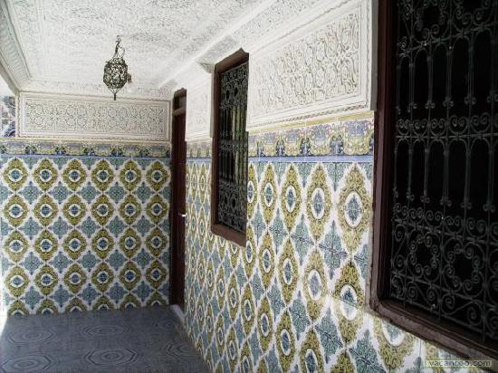 couloir hotel mimosa marrakech