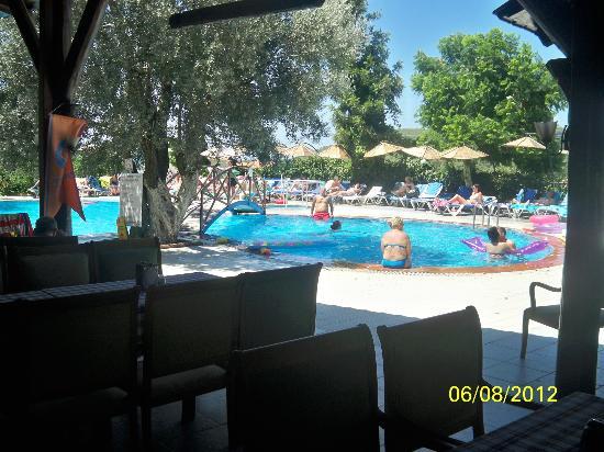 Seyir Village Hotel : Pool from bar