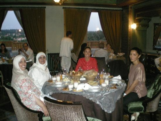 Michlifen Ifrane Suites & Spa : Iftar during Ramadan