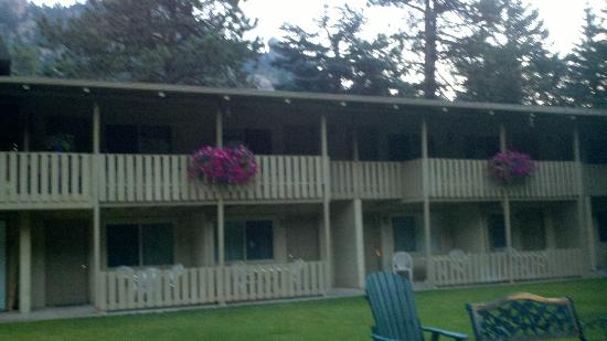 Deer Crest Resort: view of the resort from the back