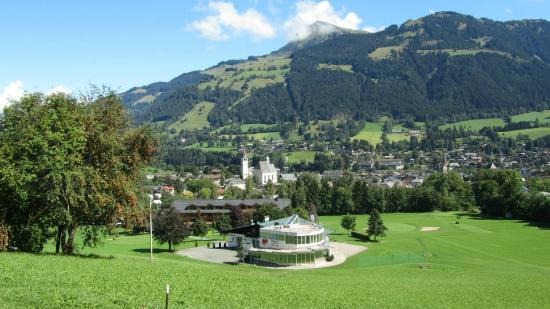 Rasmushof Hotel Kitzbühel: Just one view from the course