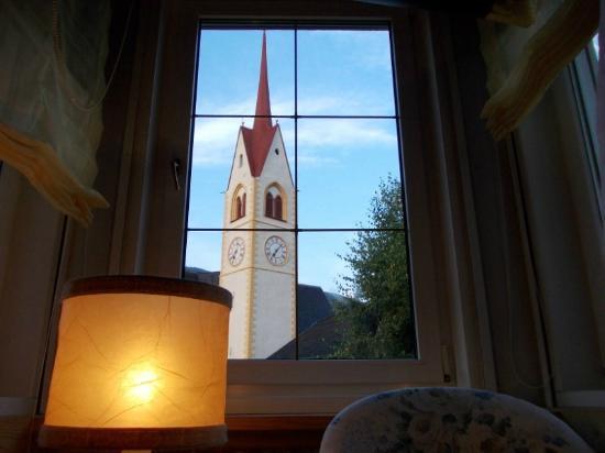 Hotel Post Tolderhof: vista dalla mia stanza