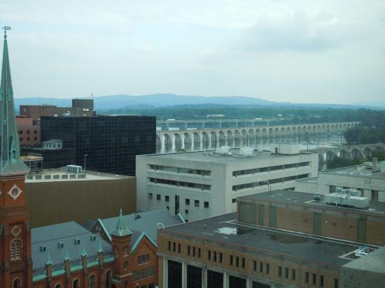 Hilton Harrisburg: Great view from our room