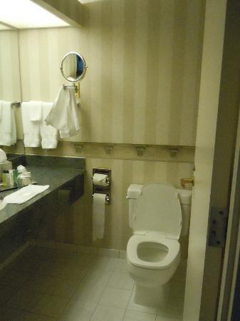 Hilton Harrisburg: bathroom with lovley amenities