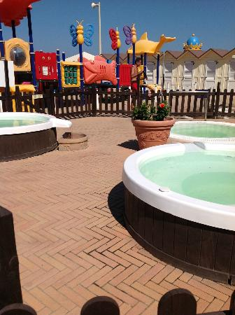 Hotel Romagna: Bagni n° 90, con vasche idromassggio