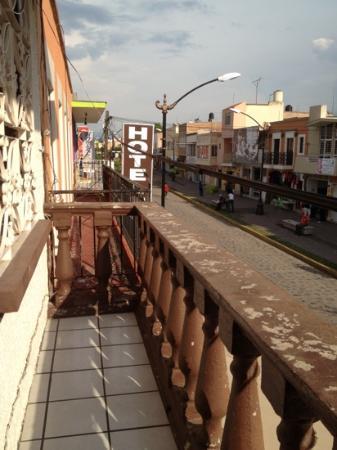 Posada César Orlando: desde el balcón