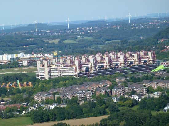 Drielandenpunt: View towards Aachen from Drielanndenpunt
