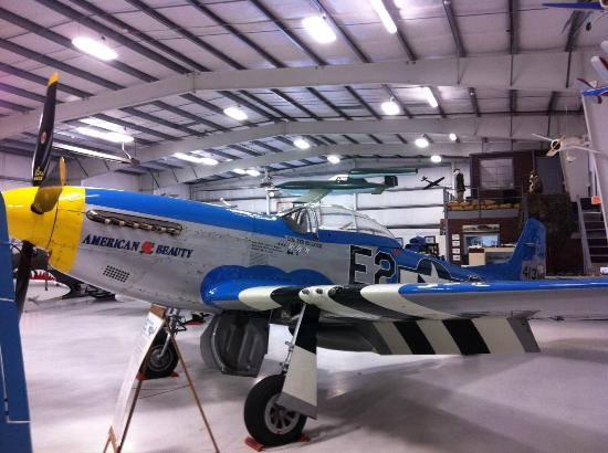 Olympic Flight Museum : P51 Mustang