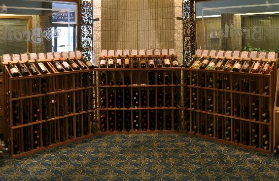 The Broiler: The Wine Shop - enjoy a bottle while dining or take a bottle home!