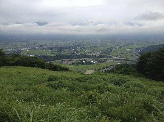 Azumino, ญี่ปุ่น: 眼下には安曇野