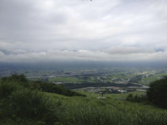 Azumino, Japan: アルプスはちょっとだけ
