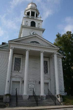 Old South Congregational Church in Windsor, Vermont