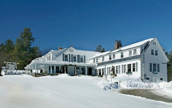 Winter at the sugar Hill Inn