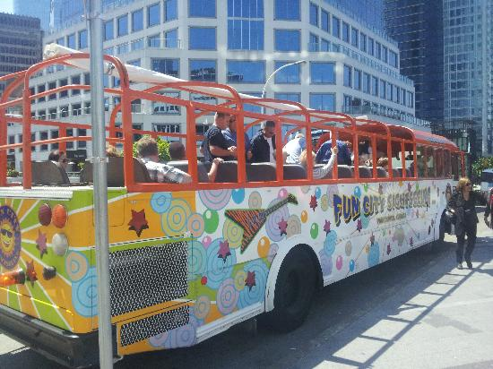 Fun City Sightseeing Hop On Hop Off