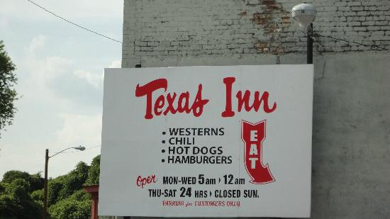 Texas Inn hours