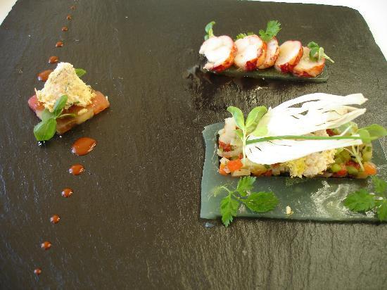 شاتو هوتل آند سبا جراند بارايل: Lobster Appetizer