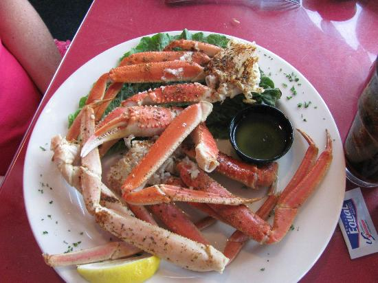 1/2 lb of crab legs - Picture of Fish House Restaurant, Oak