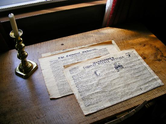 Gibson House Museum: Newspaper clippings