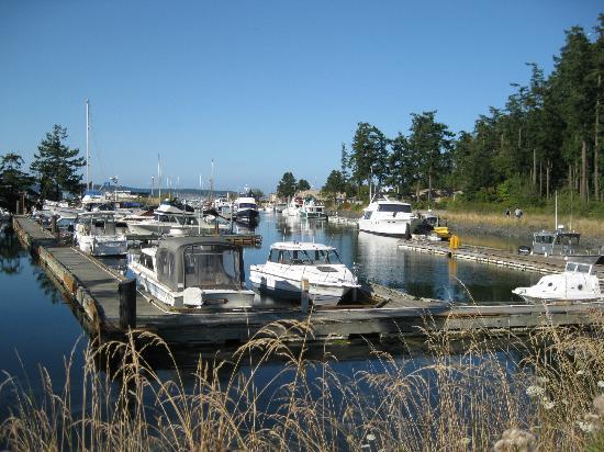 Smugglers Villa Resort : Neighboring marina