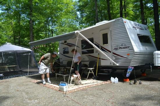 Lake George RV Park: Rv Site