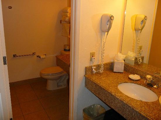 La Serena Inn: salle de bain