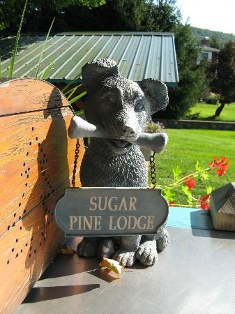 Sugar Pine Lodge: The adorable mascot