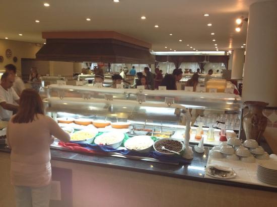 Viva Wyndham Dominicus Palace: restaurant buffet