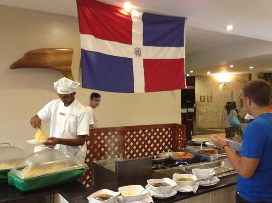 Viva Wyndham Dominicus Palace: restaurante