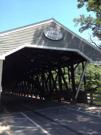 Built in 1890 over the Saco River