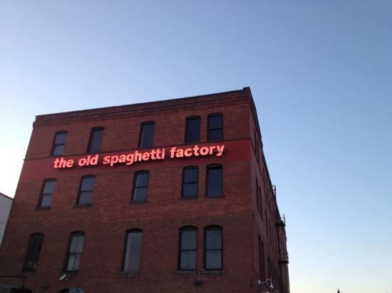 The Old Spaghetti Factory: Here it is!