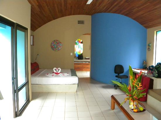 Alma del Pacifico Beach Hotel & Spa: Interior of our Villa