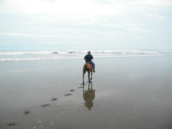 Alma del Pacifico Beach Hotel & Spa: Horseback on the beach