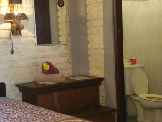 Dana Guesthouse: bath room ensuite