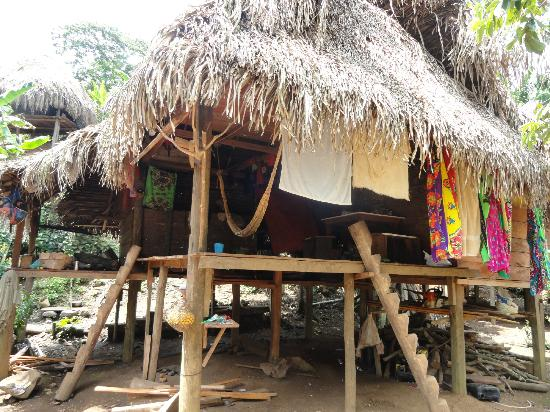Embera Tours Panama: Typical Embera Home