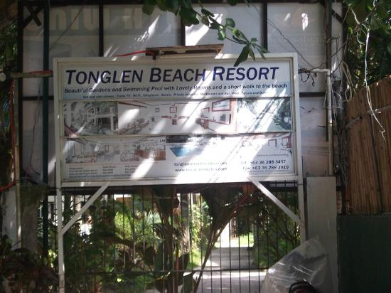 Tonglen Beach Resort: Banner