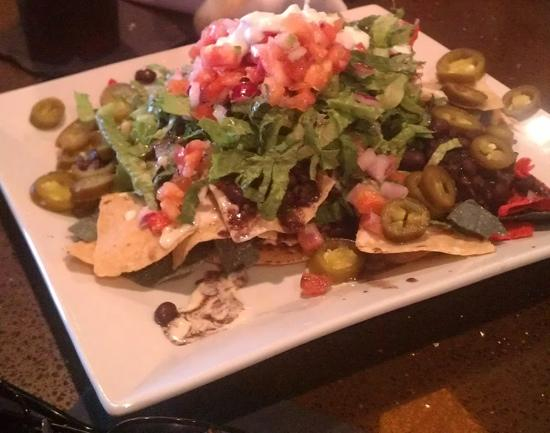 steak taco salad - Picture of Cactus Jack's Southwest Grill, Virginia ...
