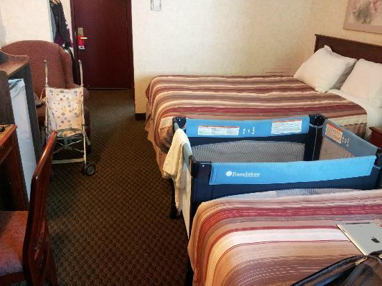 Econo Lodge South: double quees