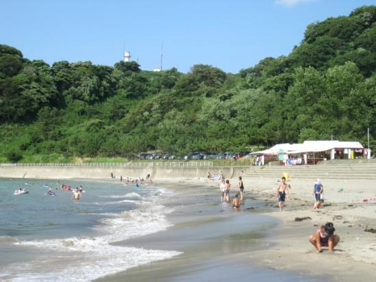 Sodegahama Beach: Main beach