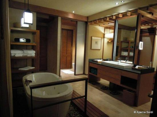 Wanakarn Beach Resort U0026 Spa: Best Planned Bathroom Ever! So Much Closet  Space,