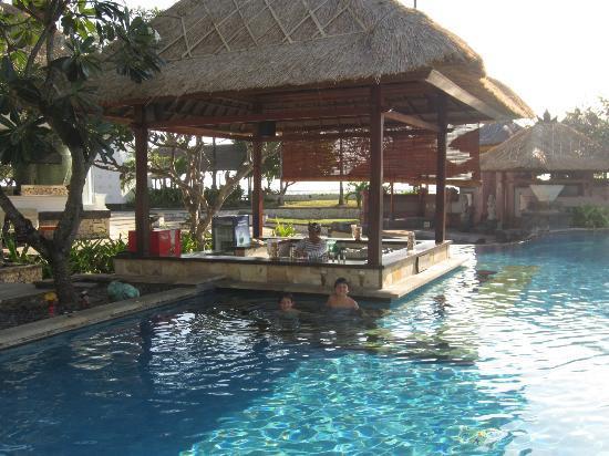 The Patra Bali Resort & Villas: Swim up bar