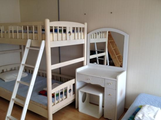 Hongdae Guesthouse: bunk bed