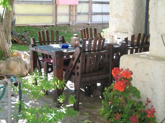 Aspamia: dining area