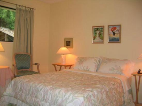 Summer Hill House Bed & Breakfast: double bed shared bath
